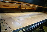 Vintage Steinway and Sons grand piano restoration