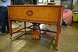 German Steinway Art Case grand piano closed
