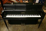 Chickering console piano used by Harry Warren