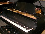 Restored Steinway and Sons Model A 1920 grand piano