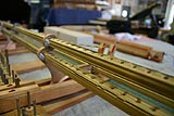 Steinway ans Sons piano patented Tubular Metallic Action Frame rail replacements 2