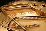 Vintage Steinway and Sons Model A grand piano restoration 2