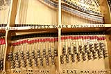 Steinway and Sons early front duplex bearing bars restrung
